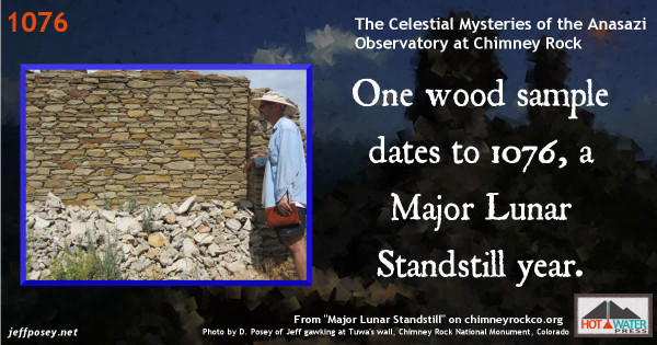 One wood sample dates to A.D. 1076. http://www.chimneyrockco.org/mls.php