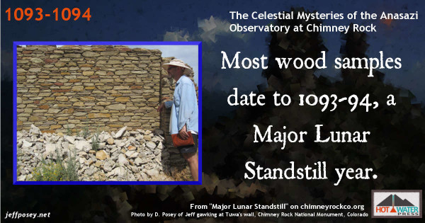 Most wood samples date to A.D. 1093-1094, another MLS. http://www.chimneyrockco.org/mls.php