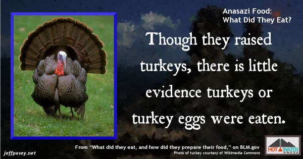 Anasazi food what did they eat jeff posey for What do people eat on thanksgiving